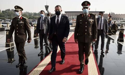 Παναγιωτόπουλος: Στρατηγική συμμαχία με την Αίγυπτο για αντιμετώπιση των τουρκικών προκλήσεων