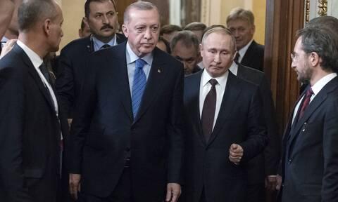 Έξαλλος ο Πούτιν με Ερντογάν: Οργή του Κρεμλίνου για τον «σουλτάνο»