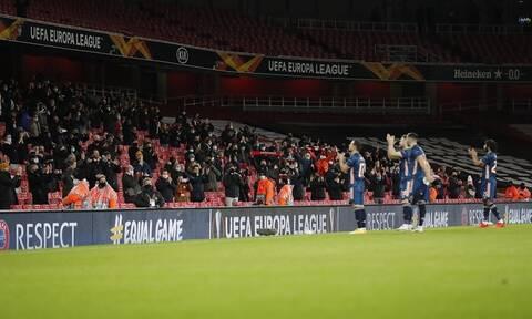 Europa League – Αγγλία: Ο κόσμος επέστρεψε στα γήπεδα μετά από 8 μήνες! (video+photos)