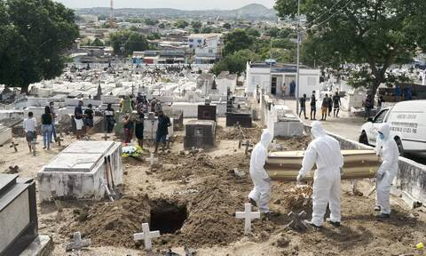 Κορονοϊός στη Βραζιλία: 50.434 κρούσματα και 755 θάνατοι σε 24 ώρες