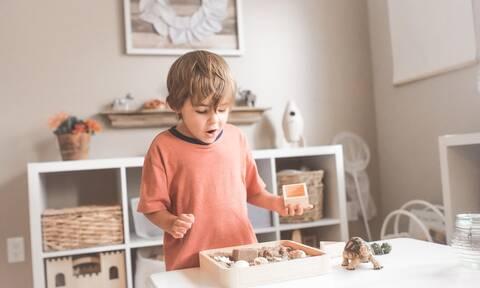 Μοντεσσοριανή εκπαίδευση στο σπίτι: Δραστηριότητες για νήπια