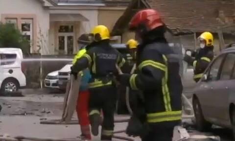 Έκρηξη στο Βελιγράδι - Πληροφορίες για νεκρό και τραυματίες (vid)
