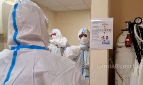 Κορονοϊός: Γέμισε η ΜΕΘ Covid του Νοσοκομείου Λαμίας