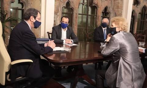 Κύπρος: Αυτοί είναι οι νέοι σύμβουλοι του Αναστασιάδη για το Κυπριακό
