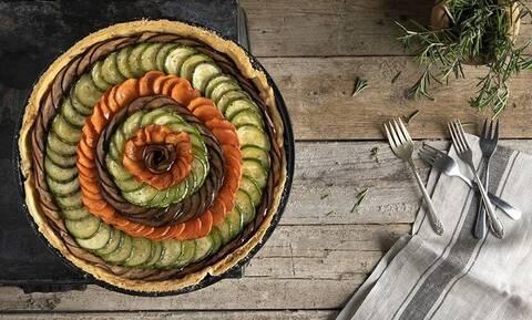 Άκης Πετρετζίκης: Τάρτα λαχανικών