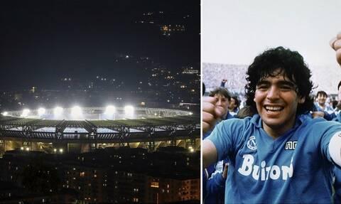 Ντιέγκο Μαραντόνα: Το γήπεδο της Νάπολι πήρε το όνομα του «Θεού» της! (photos+videos)