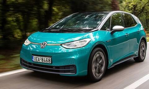 Το πλήρως ηλεκτρικό VW ID.3 πείθει μεν αλλά δεν εντυπωσιάζει δε