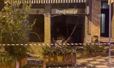 Έκρηξη στη Θεσσαλονίκη – Στόχος το ΑΤΜ τράπεζας στην Πολίχνη