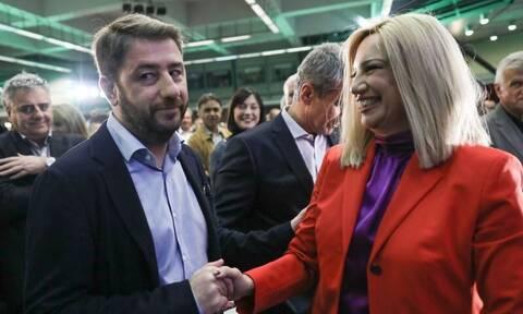 ΚΙΝΑΛ: Η Γεννηματά, ο Ανδρουλάκης και οι «μνηστήρες» της ηγεσίας της Χαριλάου Τρικούπη
