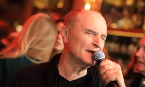 Πέθανε από κορονοϊό ο τραγουδιστής Χάρης Γαλανός