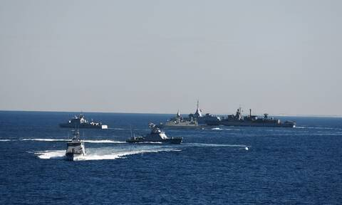 Μέδουσα 10: Επεισόδιο μεταξύ τουρκικής και αιγυπτιακής φρεγάτας - Ακόμα... τρέχουν οι Τούρκοι!