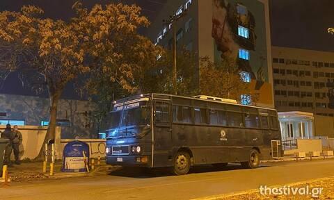 Επέτειος Γρηγορόπουλου - Θεσσαλονίκη: Ισχυρές αστυνομικές δυνάμεις πέριξ της Πανεπιστημιούπολης