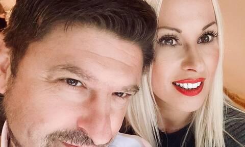 Νίκος Χαρδαλιάς: Η ευχή της γοητευτικής συζύγου του για την ονομαστική του εορτή (pic)