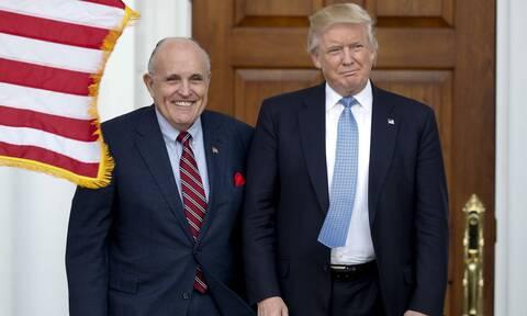 Τραμπ: Ο Ρούντι Τζουλιάνι βρέθηκε θετικός στον κορονοϊό