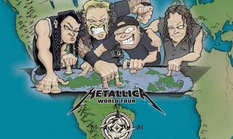 Αν είσαι fan των Metallica πρέπει να δεις το νέο τους… επιτραπέζιο παιχνίδι