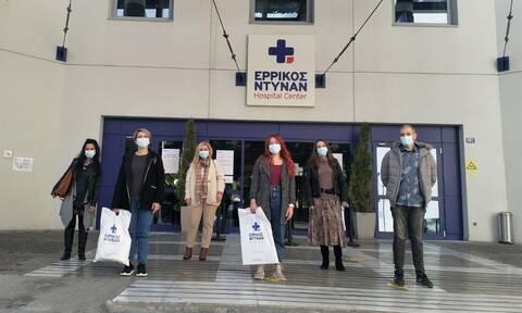 Ερρίκος Ντυνάν: Αποστολή και ομάδας νοσηλευτών για τη στήριξη του ΕΣΥ στη «μάχη του Βορρά»