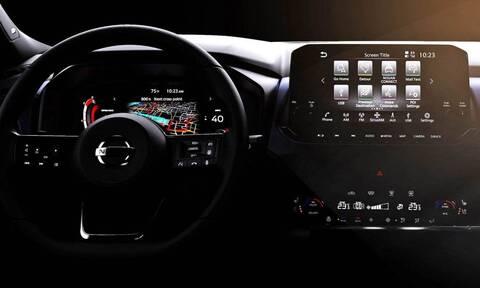 Δείτε το εντυπωσιακό εσωτερικό του νέου Nissan Qashqai