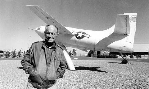Τσακ Γέγκερ - Πέθανε ο πρώτος πιλότος που έσπασε το φράγμα της ταχύτητας του ήχου