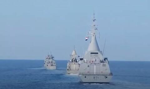 «Μέδουσα 10»: Εντυπωσιακό βίντεο! Τρομακτική η ισχύς Ελλάδας, Κύπρου, Αιγύπτου, Γαλλίας, ΗΑΕ