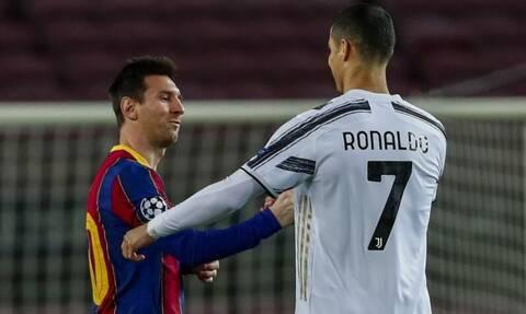Champions League: Ο Ρονάλντο πρώτα αγκάλιασε και μετά «σκότωσε» τον Μέσι