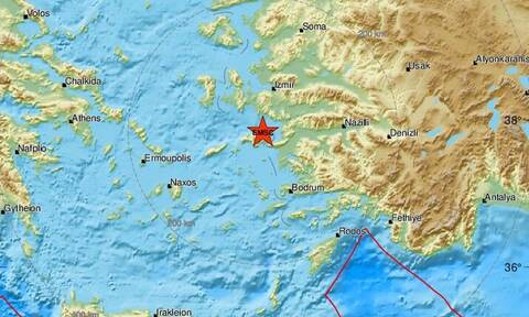 Σεισμός στη Σάμο: Συνεχίζονται οι μετασεισμοί στο νησί