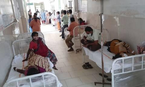 Ινδία: Συνεχίζεται το θρίλερ με τη μυστηριώδη ασθένεια - Γεμίζουν τα νοσοκομεία