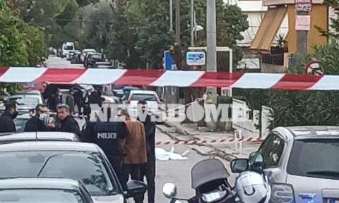 Εκτέλεση Βριλήσσια: Εικόνες - σοκ από το σημείο της δολοφονίας