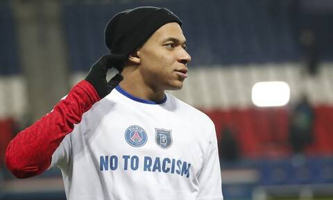 Champions League: «Βροντερό» μήνυμα κατά του ρατσισμού στο Παρίσι (video+photos)