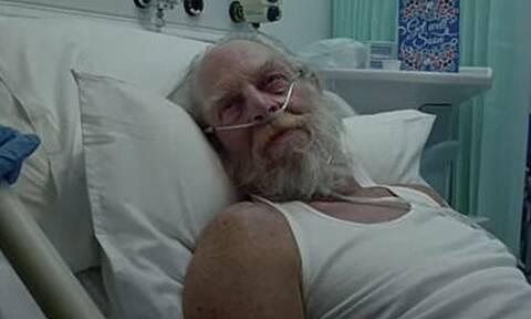 O Άγιος Βασίλης στο νοσοκομείο: Η καμπάνια που σόκαρε τη Βρετανία