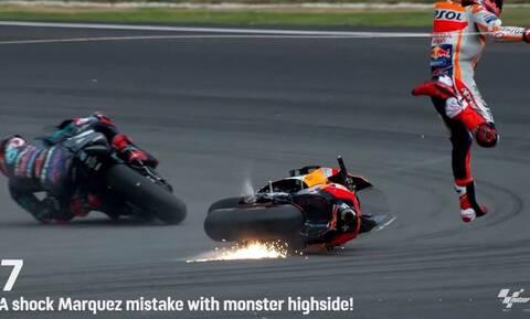 Δείτε τα 10 πιο σοκαριστικά ατυχήματα της τελευταίας δεκαετίας στο Moto GP