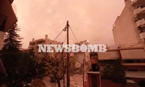Καιρός: Απόκοσμες εικόνες στην Αθήνα – Το σπάνιο φαινόμενο που «έβαψε» κόκκινο τον ουρανό