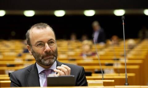 «Καταπέλτης» ο Βέμπερ για την Τουρκία: Να μπει τέλος στο παιχνιδάκι των προκλήσεων Ερντογάν