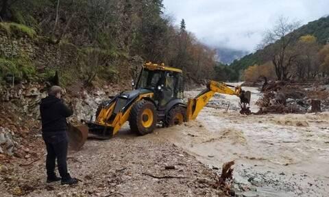 Καρδίτσα: Αποκλεισμένοι 15 κάτοικοι – Πλημμύρες και κατολισθήσεις από το πέρασμα της κακοκαιρίας