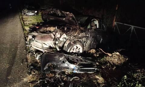 Κρήτη: Συγκλονιστικές εικόνες από σφοδρό τροχαίο - Τραυματίστηκαν σοβαρά δύο άτομα