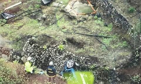 Τραγικός θάνατος για οικογένεια στην Ισπανία - Το αυτοκίνητό τους έπεσε σε γκρεμό 75 μέτρων (pics)