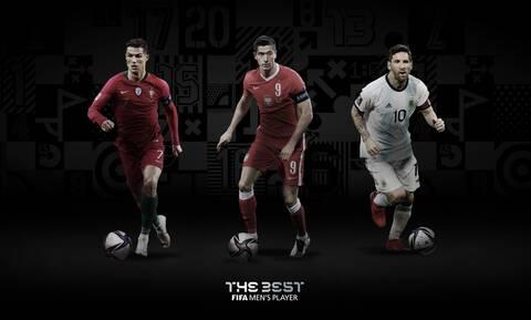 FIFA Best Awards 2020: Ρονάλντο, Μέσι ή Λεβαντόφσκι! Ποιος είναι ο κορυφαίος; (video+photos)