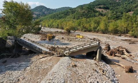 Αντιπλημμυρικά έργα 400 εκατ. στη Θεσσαλία και σε άλλες περιοχές για τον «Ιανό»