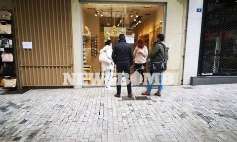 Ρεπορτάζ Newsbomb.gr - Click away: Σήκωσαν ρολά τα καταστήματα – «Μουδιασμένος» ο κόσμος