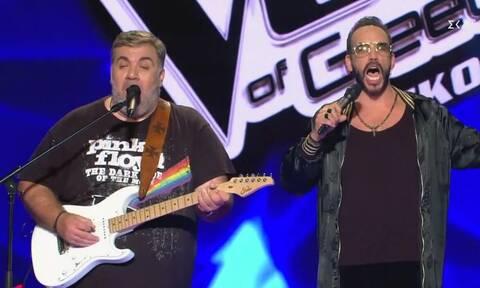 The Voice: Ξεσήκωσαν τους πάντες Σταρόβας - Μουζουράκης τραγουδώντας… σαλονικιώτικα (vid)