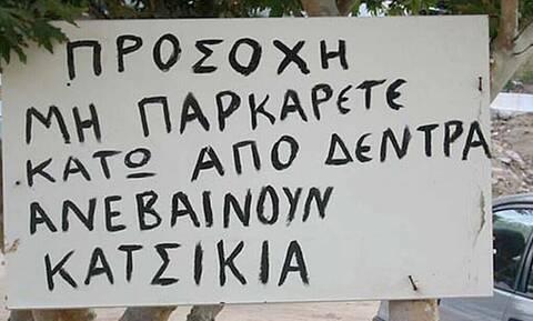 Άπειρο γέλιο: Οι πιο αστείες πινακίδες σε ελληνικά χωράφια!