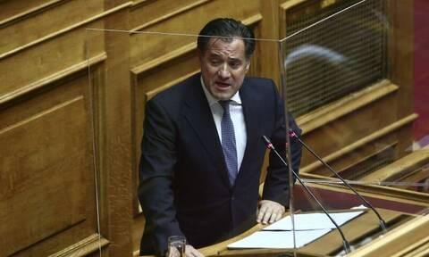 Άδωνις Γεωργιάδης: Οι δεσμεύσεις για τα μέτρα στήριξης και η κόντρα με τον ΣΥΡΙΖΑ για την ανάπτυξη