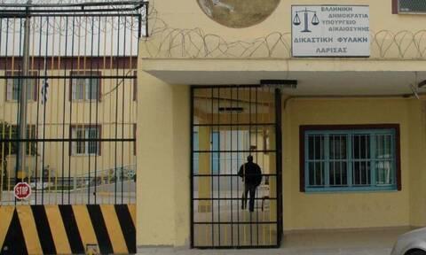 Κορoνοϊός -  Φυλακές Λάρισας: Θετικοί στον ιό 36 ακόμη κρατούμενοι