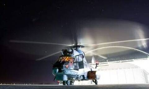 Θρίλερ στην Αλόννησο: Επιστρατεύτηκε Super Puma για αεροδιακομιδή ασθενούς με κορονοϊό