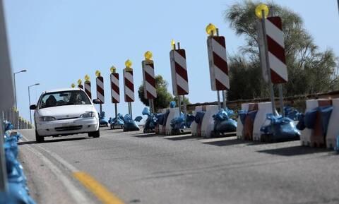 Αττική: Κλειστή λόγω έργων η επαρχιακή οδός Καπανδριτίου - Βαρνάβα