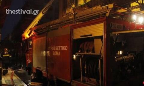 Θεσσαλονίκη: Συναγερμός για φωτιά σε οίκο ανοχής τα ξημερώματα