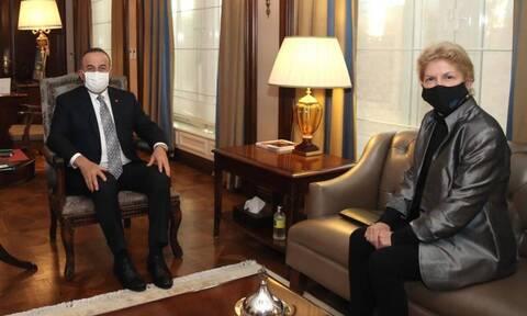 Τσαβούσογλου: Η Τουρκία στηρίζει λύση των δύο κρατών στην Κύπρο
