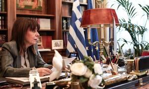 Ανασκόπηση 2020 - Κατερίνα Σακελλαροπούλου: Η πρώτη γυναίκα Πρόεδρος της Δημοκρατίας στην Ελλάδα