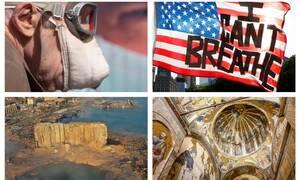 Ανασκόπηση: 2020… Η χρονιά που άλλαξε τον κόσμο όπως τον ξέραμε (pics+vids)