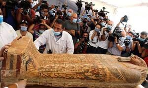 Ανασκόπηση 2020: Στο φως 100 άθικτες σαρκοφάγοι στη Νεκρόπολη της Σακκάρα στην Αίγυπτο