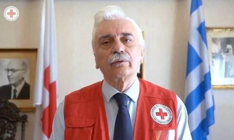 Το μήνυμα του προέδρου του Ελληνικού Ερυθρού Σταυρού εν όψει των εορτών
